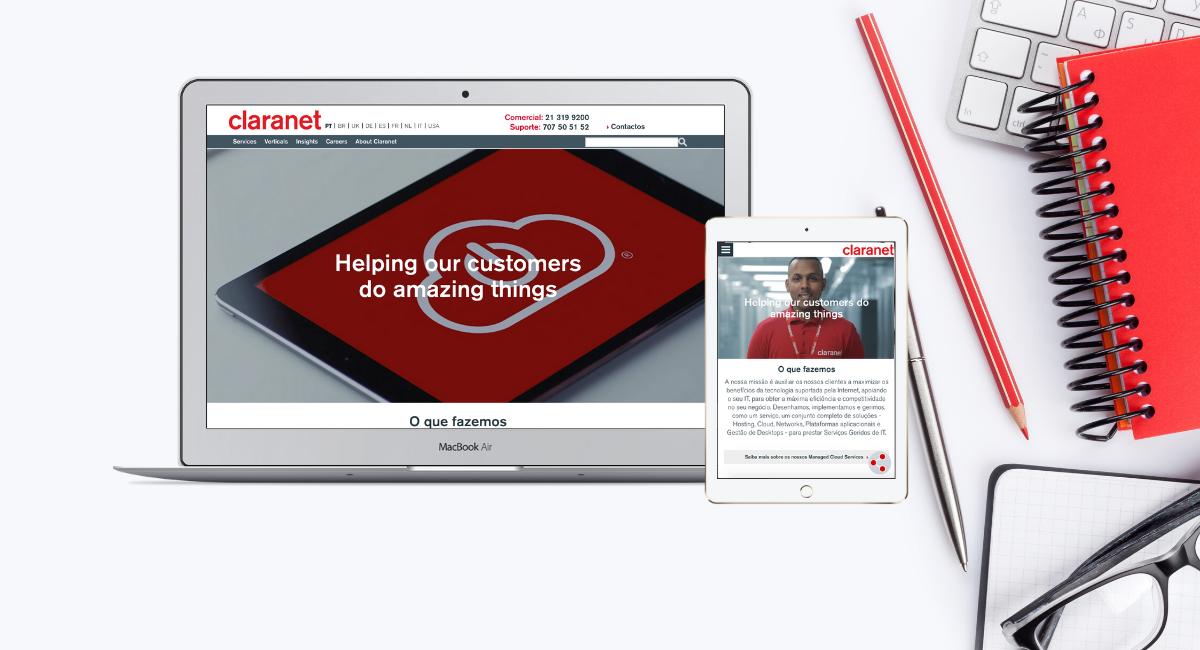 Website Claranet