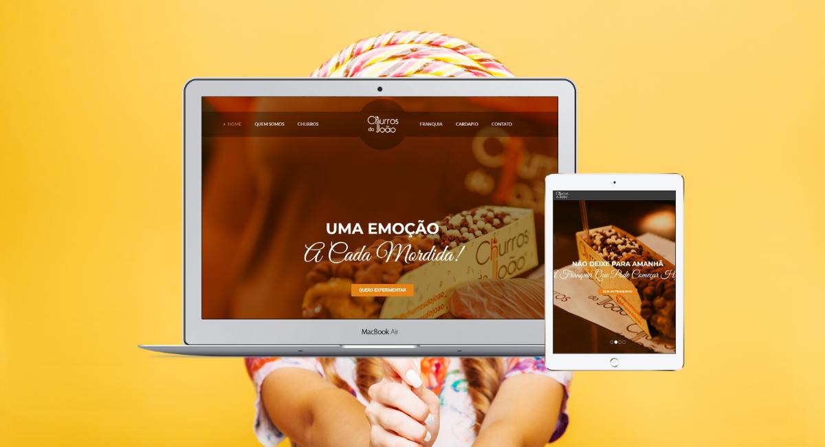 Website Churros do João