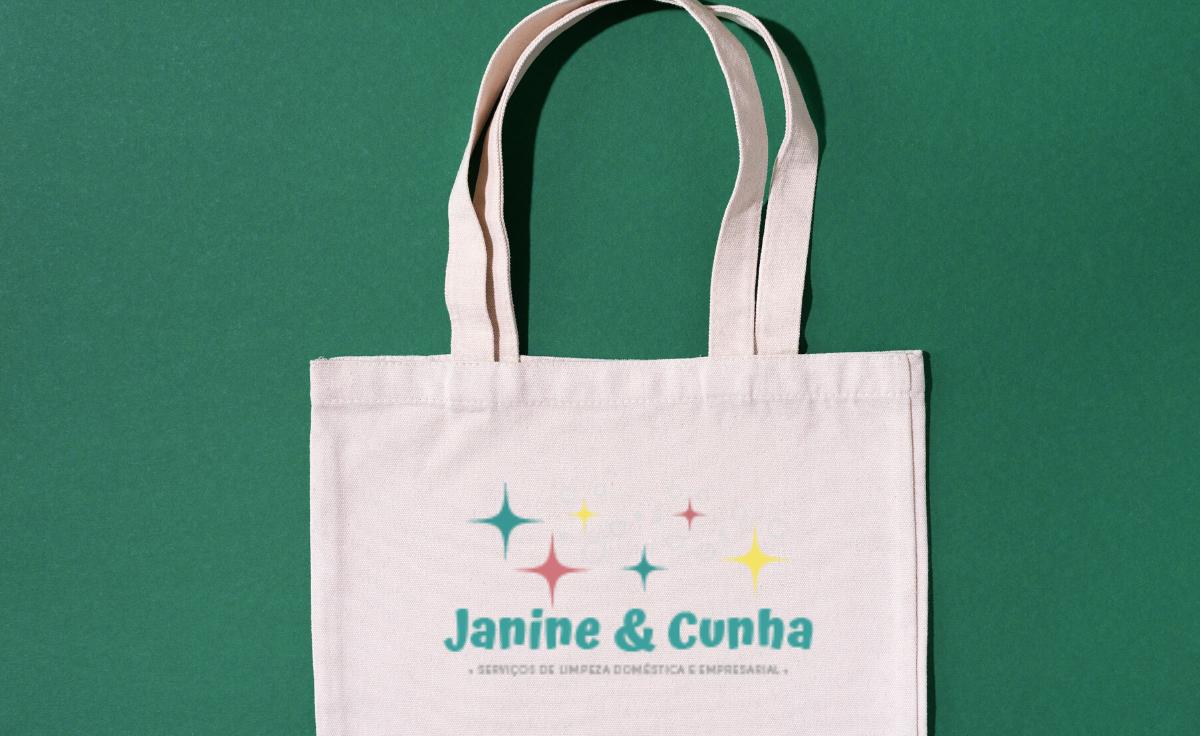 Logotipo Janine e Cunha